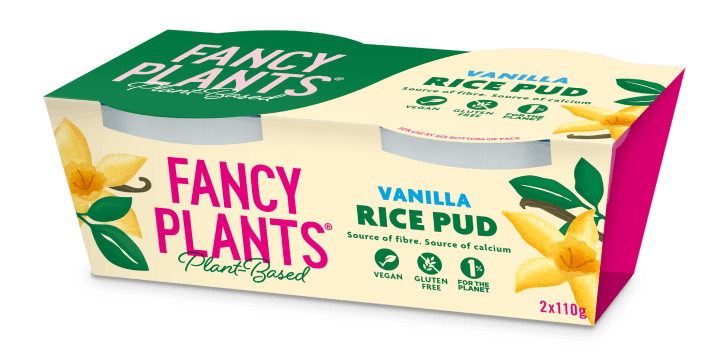 Vanilla rice pud pack shot